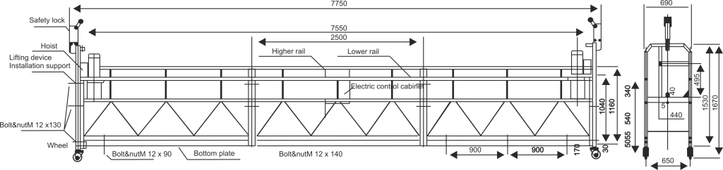 Dimension (Line Diagram) - 1