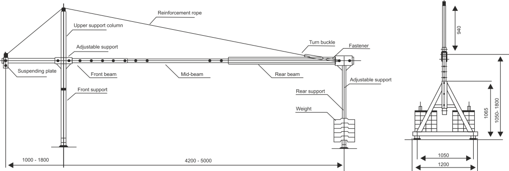 Dimension (Line Diagram) - 2